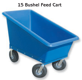 15-gallon Feed Cart